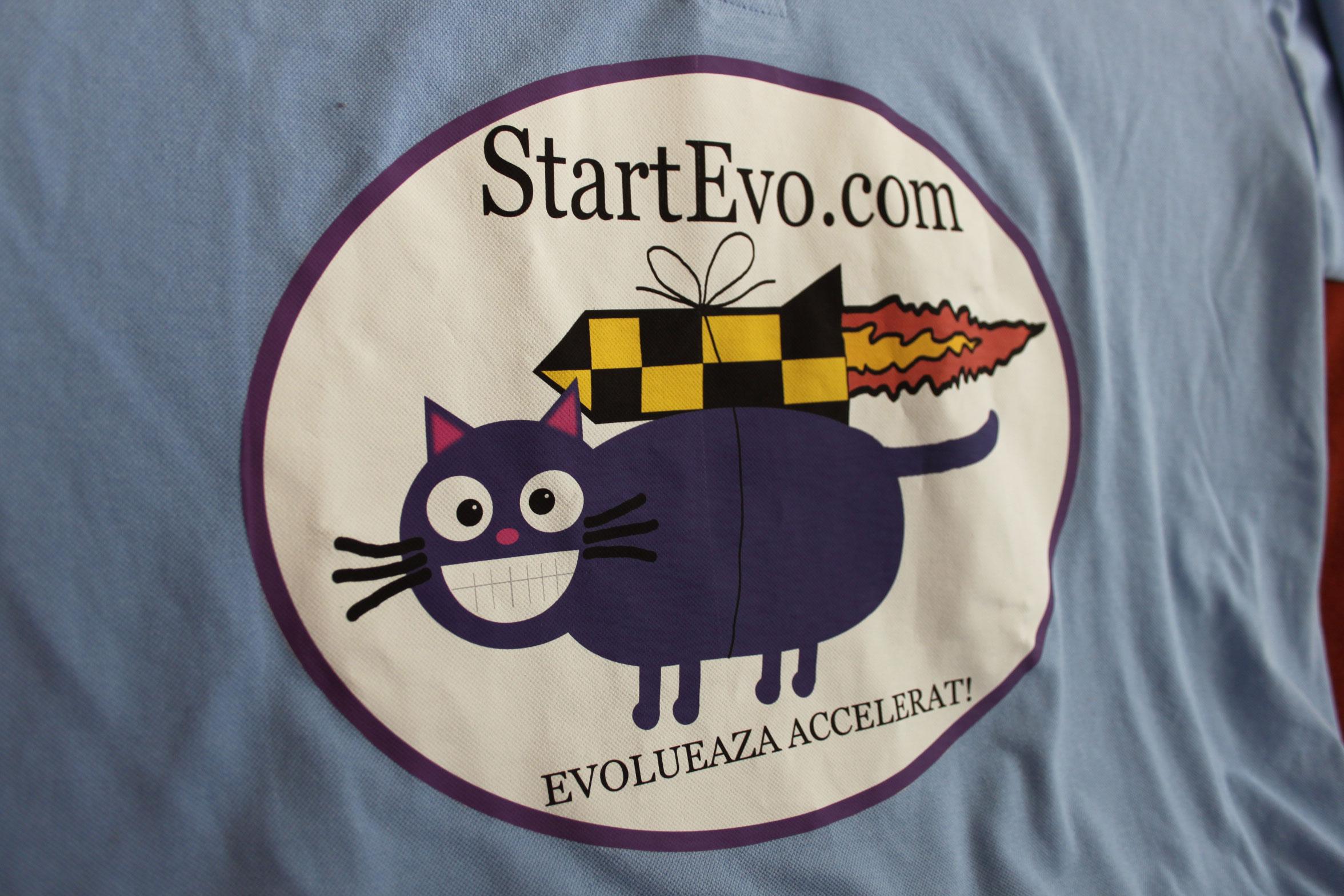 StartEvo pe mega tricou :)