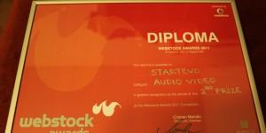 Diploma StartEvo Webstock