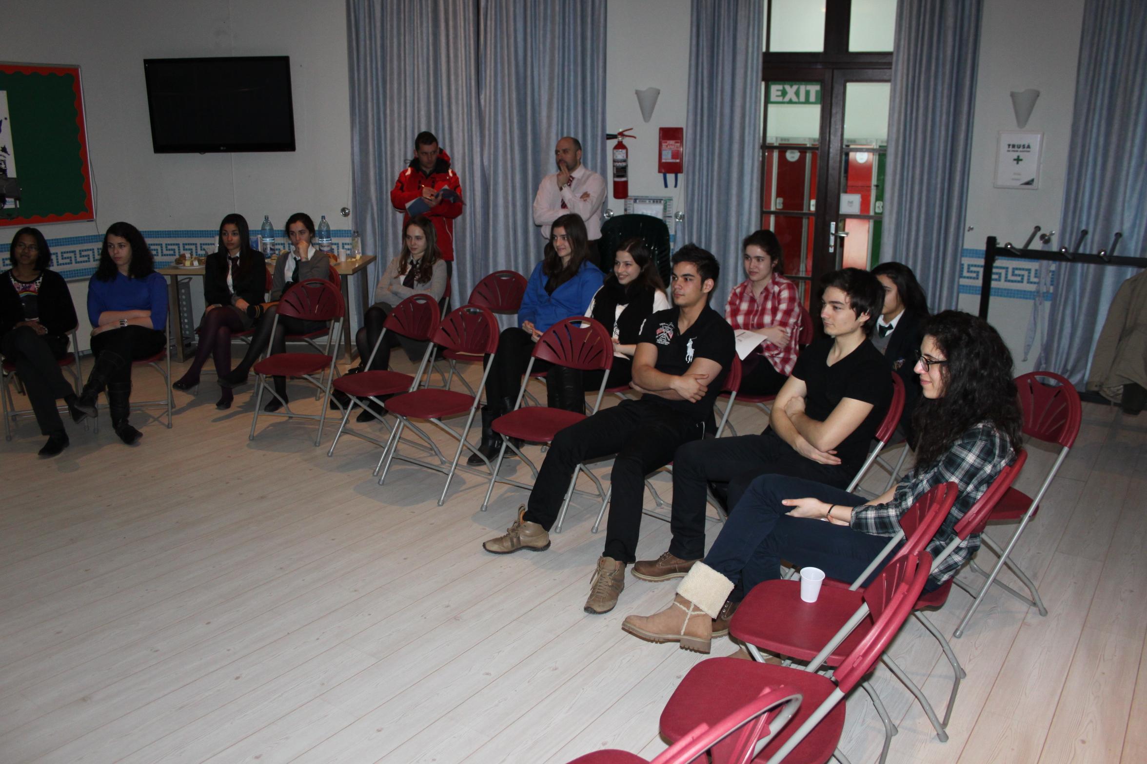 StartEvo a fost ieri sa vorbeasca liceenilor de la British School din Pipera