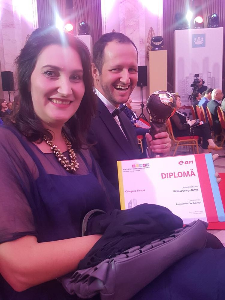 Kidibot a castigat Locul 1 la E-ON Energy Globe Award 2018, Sectiunea Tineret
