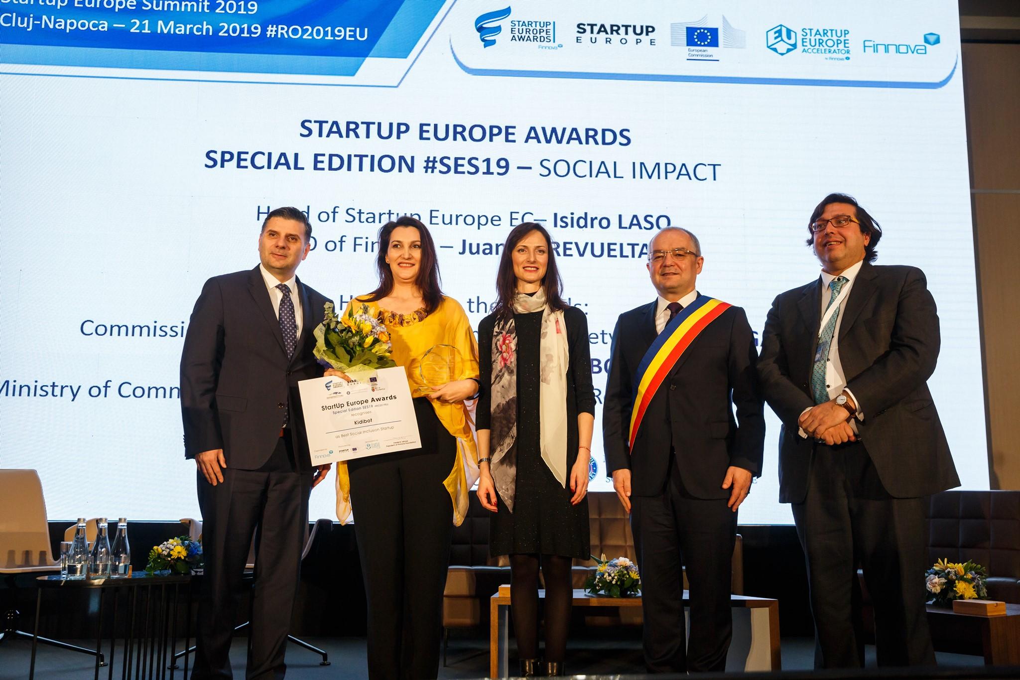 România aduce acasă un important premiu european prin proiectul Kidibot!