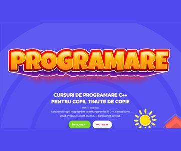 Cursuri de programare C++ pentru Copii. Modul I – Incepatori